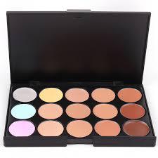 palettes 15 colors makeup foundation