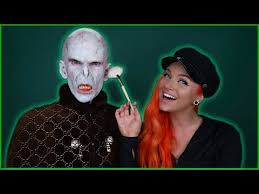 lord voldemort makeup transformation