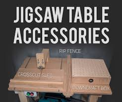 Jigsaw Table Like Table Saw 21 Steps With Pictures Instructables