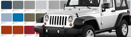 jeep wrangler paint codes wrangler