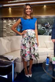 Jessica Alba Fox & Friends June 19, 2014 – Star Style