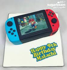 Nintendo Switch Cake Fiesta De Nintendo Decoracion De Mario