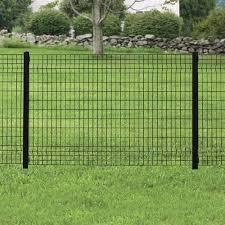 4 X 6 Black Euro Fence Panel Dog Fence Diy Dog Fence Fences Alternative