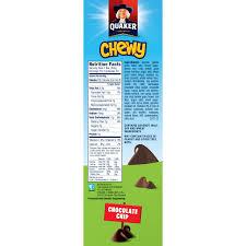quaker chewy granola bars chocolate