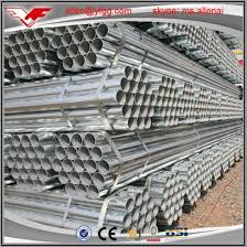 China Hot Dip Galvanized Erw Steel Pipes For Fence Posts China Galvanized Steel Pipe Scaffodling Galvanized Pipes