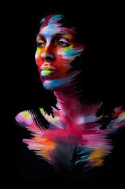 Pin by Wendi Morris on Образы | Body art painting, Portrait painting, Paint  photography