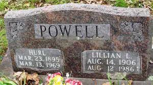 POWELL, HURL - Baxter County, Arkansas | HURL POWELL - Arkansas Gravestone  Photos