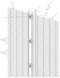 Security Fence Panel And Security Fence Us 10 494 833 B2 Patentswarm