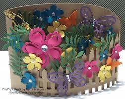 Bendi Flower Garden Fancy Fold Cards Flower Stampin Up Cards Handmade