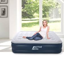 air bed king size with built in