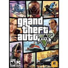 Grand Theft Auto V GTA 5 - Premium Online Edition PC - Basra Games ...