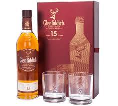 glenfiddich 15 year old single malt and
