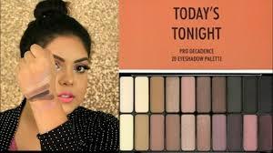 tonight palette eye makeup matte glam