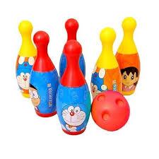 barodian s doraemon bowling set multi