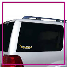 Falcons Cheer Bling Clingz Window Decal All In Rhinestones Glitterstarz