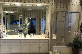 modern bath makeover in plano by dfw