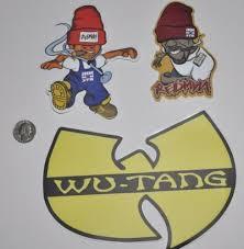 Home Garden Wu Tang Sticker Decal Lot 3m Vinyl Redman Lot Of 3 Hip Hop Decor Decals Stickers Vinyl Art Acssports Com Br
