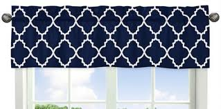 white modern window treatment valance