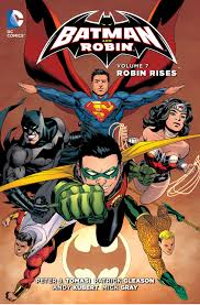 Amazon.com: Batman and Robin Vol. 7: Robin Rises (The New 52 ...