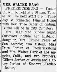 Ada Jordan Baag obit 8/27/63 - Newspapers.com