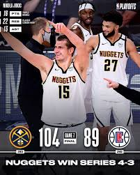 NBA - Jamal Murray & Nikola Jokić come ...