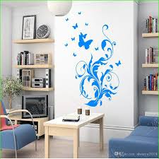 2016 Butterfly Flying Flower Vine Wall Stickers Decorative Living Room Tv Background Home Decor Wall Decal For Kids Bedroom Wall Decals Sale Wall Decals Sayings From Shouya2018 19 69 Dhgate Com