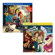 迪士尼系列toy story玩具總動員有聲書 2書
