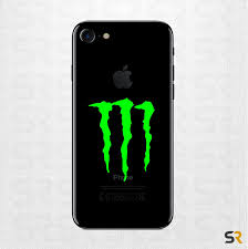 Monster Energy Iphone Decal Monster Energy Phone Decal Monster Energy Cell Phone Sticker Monster Energy Decals Monster Energy Stickers Monster Decals Monster Stickers Laptop Decals