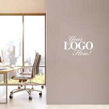 Custom Logo Vinyl Wall Decal 751920c 3w Successories