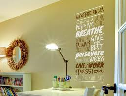My Office Rules Version 2 Wall Decal
