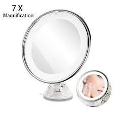 led illuminated makeup cosmetic mirror