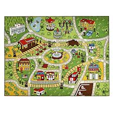 kids carpet playmat rug for toy cars