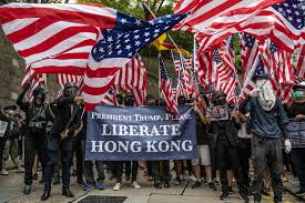Chinese state media denounces Hong Kong protesters seeking U.S. ...