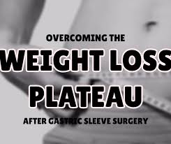 overing the weight loss plateau