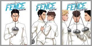 Lauren S Boookshelf Graphic Novel Series Review Fence Vol 1 3 By C S Pacat