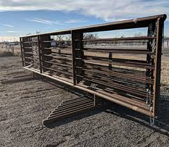 Portable Continuous Fence Panels Bg High Plains Cattle Supply