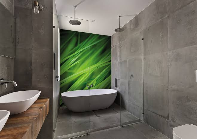 Bathroom Decoration and Design - Wall Panels
