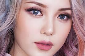 gambar tutorial make up korea