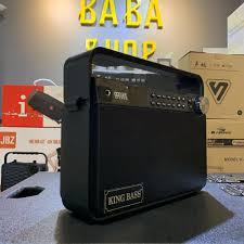 Loa karaoke mini Kingbass Q7( BẢN TIẾNG ANH ), Loa kéo bluetooth hát karaoke  gia đình âm thanh cực hay + Tặng 1 micro, giá chỉ 2,093,000đ! Mua ngay kẻo  hết!