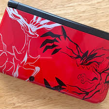 Nintendo 3DS XL, Pokemon XY Red version Played on... - Depop