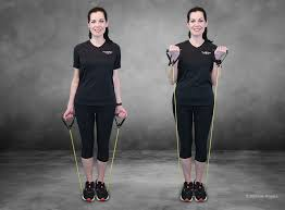 resistance band workout for stronger