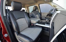 dodge ram leather interiors