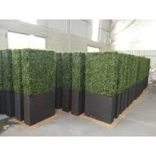 Plastic Fake Artificial Hedge Fence Artificial Plant For Fence Garden Decoration Global Sources