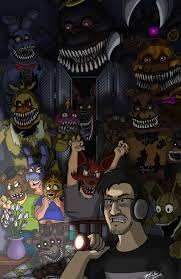 The Hero That Horror Deserves Fnaf4 By Marshall Arts Comics On