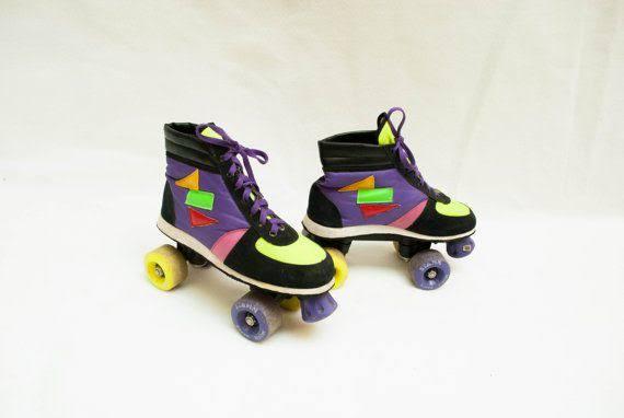 """Afbeeldingsresultaat voor yellow rollerskates 90s"""""""