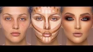 fall inspired makeup 2018 contour and