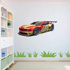 Race Car Wall Decal Azvinylworks