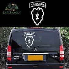 Earlfamily Classic Battlefield Lightning Airborne Infantry Division Characteristic Car Sticker Rv Suv Window Vinyl Decal 9 Color Car Stickers Aliexpress