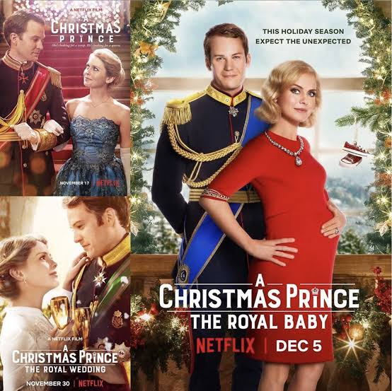 a christmas prince trilogy