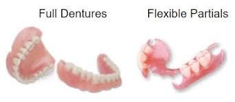 dentures affordable flexible partials